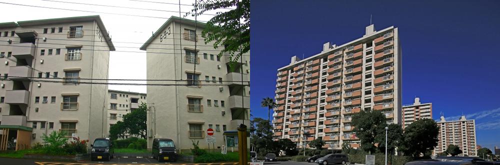 市営住宅団地・県営住宅団地・URの画像